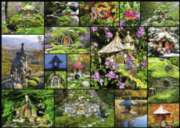 Fairy Houses - 500pc Large Format Jigsaw Puzzle By Ravensburger