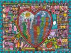 James Rizzi: All that Love in the Middle of the City - 1500pc Jigsaw Puzzle by Ravensburger
