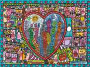 Ravensburger Jigsaw Puzzles - James Rizzi: All that Love in the Middle of the City