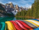 Mountain Canoes - 2000pc Jigsaw Puzzle By Ravensburger