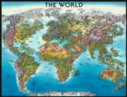 World Map - 2000pc Jigsaw Puzzle By Ravensburger