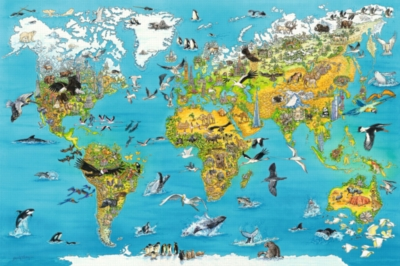 Ravensburger Jigsaw Puzzles - Fascinating Earth