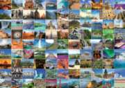 99 Beautiful Places on Earth - 1000pc Jigsaw Puzzle By Ravensburger