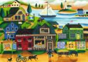 Village Harbor - 1000pc Jigsaw Puzzle By Ravensburger
