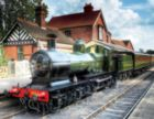 Sheffield Park Station - 500pc Jigsaw Puzzle by Springbok