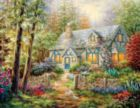Cottage Hideaway - 500pc Jigsaw Puzzle by Springbok