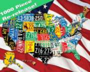 Springbok Jigsaw Puzzles - State Plates