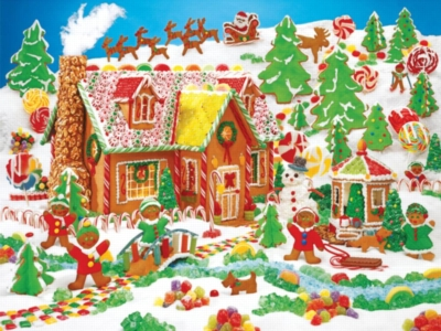 Springbok Jigsaw Puzzles - Gingerbread Fun