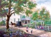 Jigsaw Puzzles - Amish Country Home