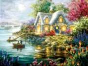 Cottage Cove - 300pc Jigsaw Puzzle By Sunsout