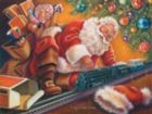 Santa's Break - 500pc Jigsaw Puzzle By Sunsout