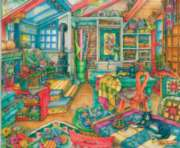 The Quilt Room - 1000pc Jigsaw Puzzle By Sunsout