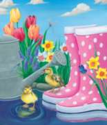 Puddle Fun - 200pc Jigsaw Puzzle By Sunsout