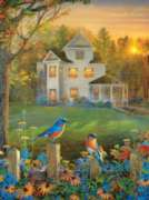 On the Fence - 1000pc Jigsaw Puzzle By Sunsout