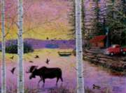 Moose Lodge - 1000pc Jigsaw Puzzle By Sunsout