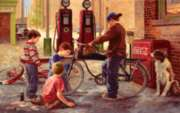 The Bike Patrol - 550pc Jigsaw Puzzle By Sunsout