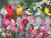 Songbirds and Cosmos - 500pc Jigsaw Puzzle By Sunsout