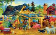 Fresh Fruits and Flowers - 1000pc Jigsaw Puzzle By Sunsout