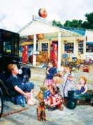Jigsaw Puzzles - Saturday at the General Store