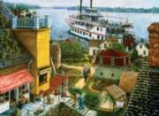 Paddle Boat Landing - 500pc Jigsaw Puzzle By Sunsout