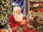 Santa Sew Sweet - 1000pc Jigsaw Puzzle By Sunsout