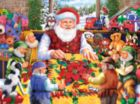 Santa's Quilting Bee - 1000pc Jigsaw Puzzle By Sunsout