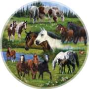 Around the Pasture - 1000pc Jigsaw Puzzle By Sunsout