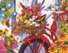 The Old Bicycle and Friends - 1000pc Jigsaw Puzzle By Sunsout