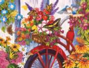 Jigsaw Puzzles - The Old Bicycle and Friends