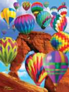Balloon Blast - 500pc Jigsaw Puzzle By Sunsout