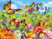 Butter Flutter - 500pc Jigsaw Puzzle By Sunsout