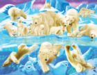 Polar Bear Plunge - 63pc Jigsaw Puzzle By Sunsout