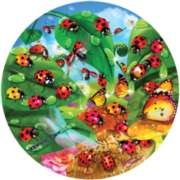 LadyBug Splash - 500pc Jigsaw Puzzle By Sunsout