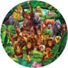 Monkey Lane - 100pc Jigsaw Puzzle By Sunsout