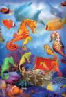 Seahorse Treasure - 100pc Jigsaw Puzzle By Sunsout