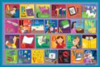 Reading Alphabet - 48pc Jigsaw Puzzle By Sunsout