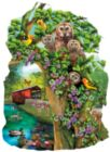 Owl Condo - 1000pc Shaped Jigsaw Puzzle By Sunsout