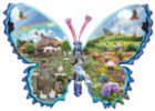 English Meadow - 1000pc Shaped Jigsaw Puzzle By Sunsout