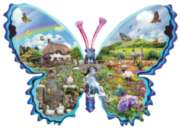 Shaped Jigsaw Puzzles - English Meadow
