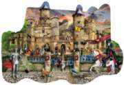 Castle Stronghold - 1000pc Shaped Jigsaw Puzzle By Sunsout