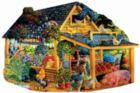 Farmer Jeb's Market - 1000pc Shaped Jigsaw Puzzle By Sunsout