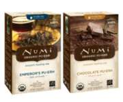 Numi Organic Tea - 6 Boxes - 96 Assorted Single Serve Pu-erh Packets