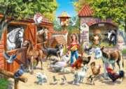 Jigsaw Puzzles - At the Farm