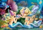 Three Mermaids - 500pc Jigsaw Puzzle by Castorland