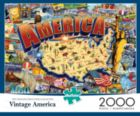 Vintage America - 2000pc Jigsaw Puzzle By Buffalo Games