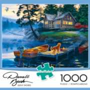 Darrell Bush: Silent Shores - 1000pc Jigsaw Puzzle By Buffalo Games