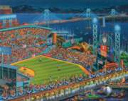 Dowdle Jigsaw Puzzles - San Francisco Giants