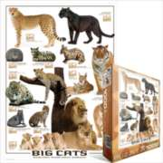 Eurographics Jigsaw Puzzles - Big Cats