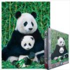 Panda Bear & Baby - 1000pc Jigsaw Puzzle by Eurographics