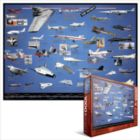 American X-Planes - 1000pc Jigsaw Puzzle by Eurographics
